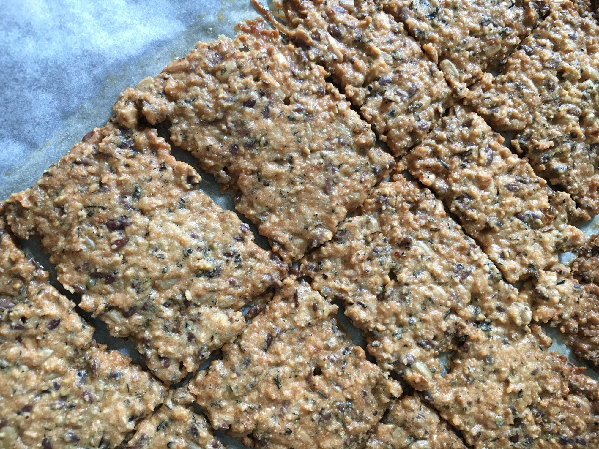 Glutenfree paleo cracker